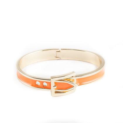 Orange Belt Bangle