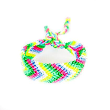 Green + Pink Bestie Bracelet
