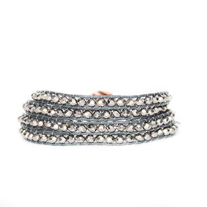 Silver Crystal 4X Wrap