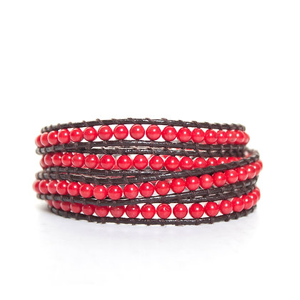 Red 4X Coral Wrap