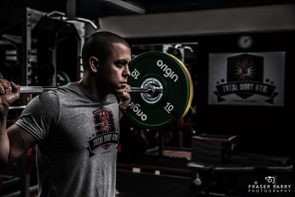 Fitness Gym Photography Essex
