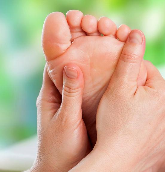 Foot Massage, Hands