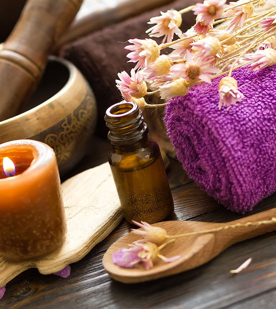 Aromatherapy Oils, Wooden Spoon, Wood, Towel, Fragrance,