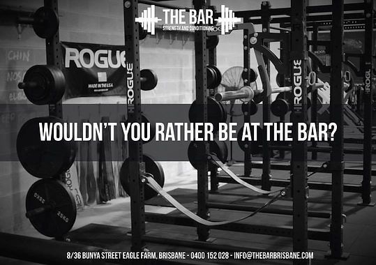 Gym | The Bar Brisbane | Queensland