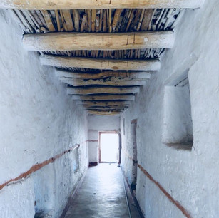 Underneath Shey Palace
