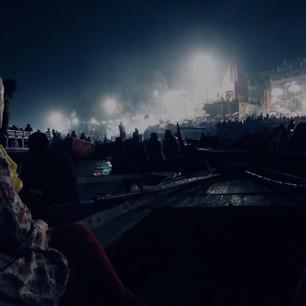 Arti Ganges River, Varanasi