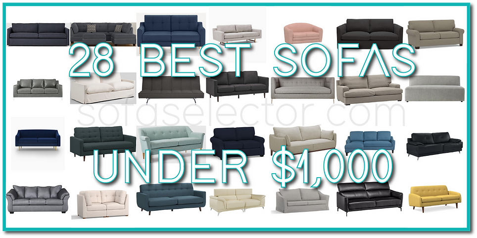 best cheap couches, sofas under 1000, best affordable sofas