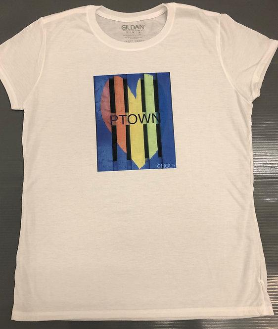 PTOWN Rainbow - Ladies  Shirt