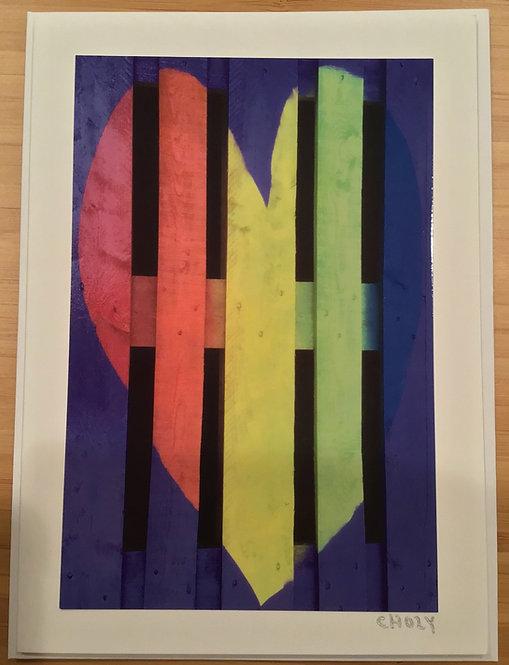 Card - Love's Rainbow