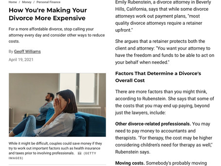 How People Inadvertently Make Their Divorces More Expensive