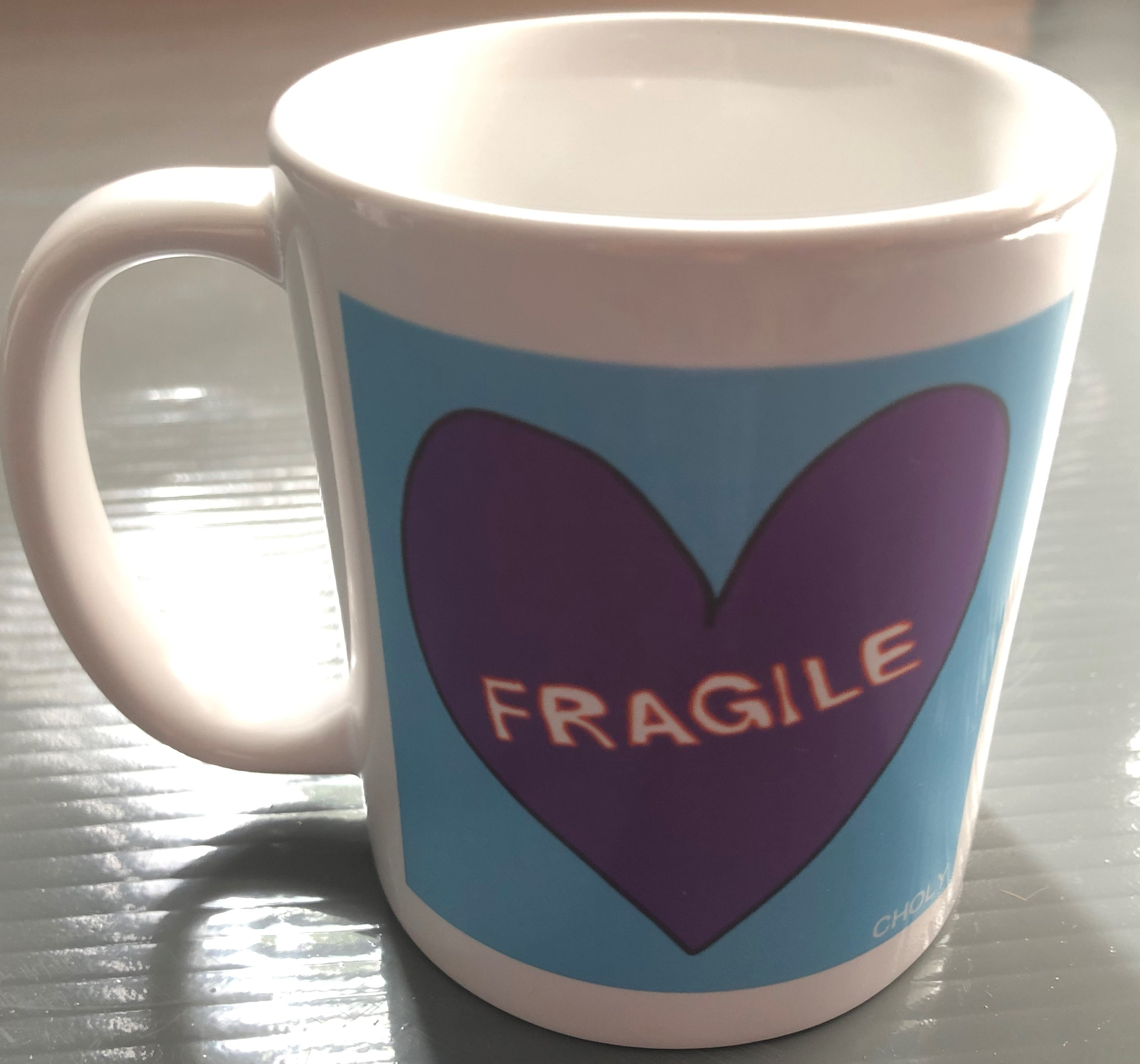 Fragile Mug - Purple