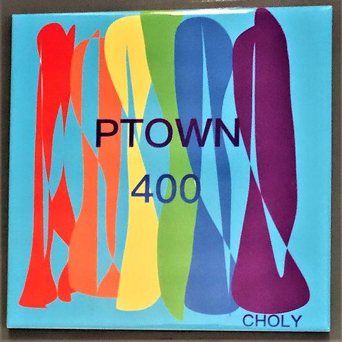 PTOWN  400 Commemorative Tile -Blue
