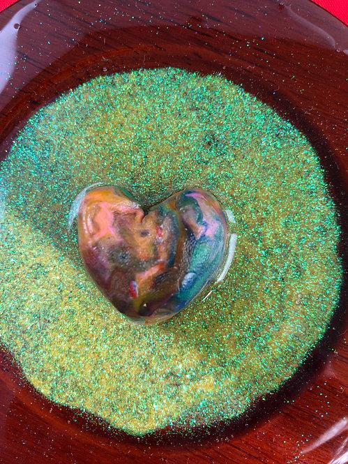 Plated Love - Irish Green Glitter
