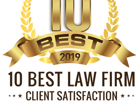 Law Office of Emily E. Rubenstein Named 2019 10 Best Law Firm for Client Satisfaction