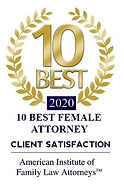 2020 Best Female Family Law Attorney