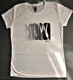 Shirt  - Black and White Rainbow