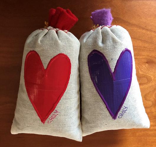 Lavender Heart Sachets - Artist's Pick