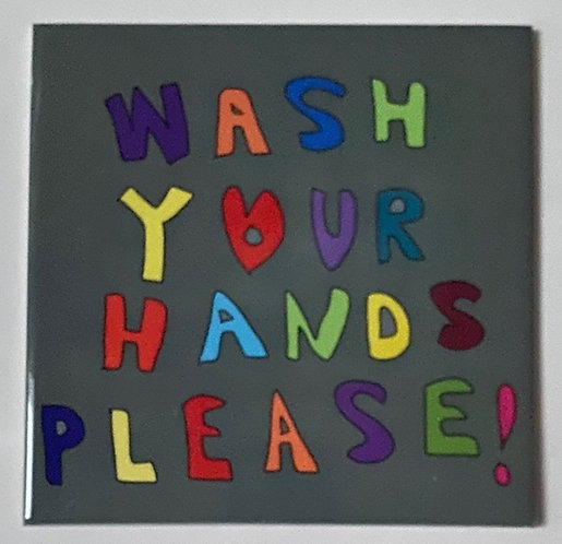 Wash Your Hands Tile