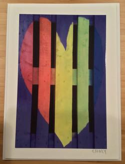 Loves Rainbow card