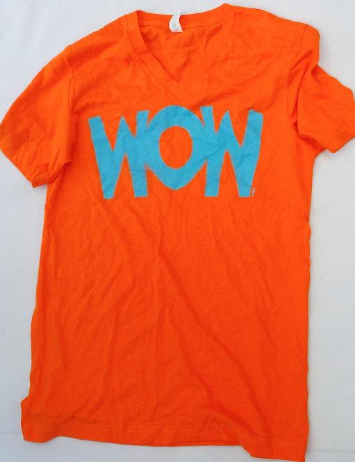 WOW V-Neck T-Shirt