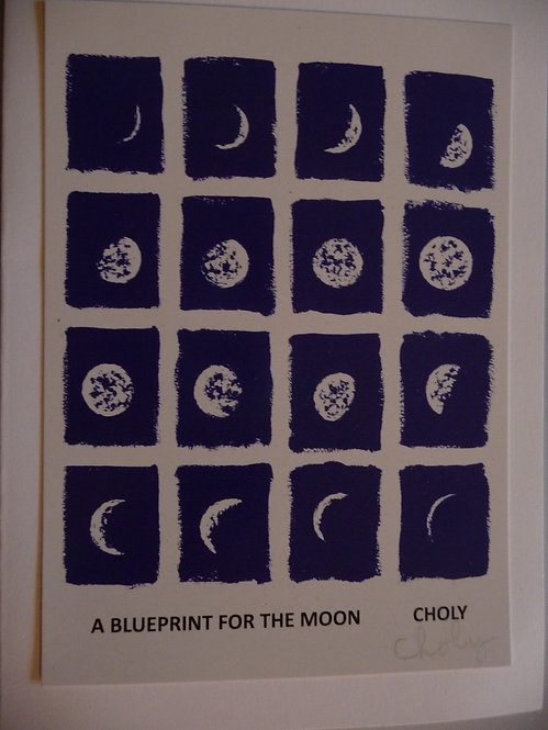 Card - A Blueprint For The Moon