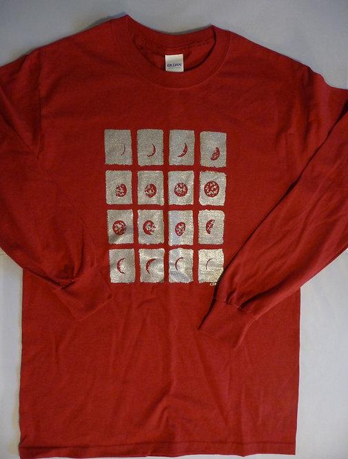 Glitter Moon Long Sleeve T-Shirt