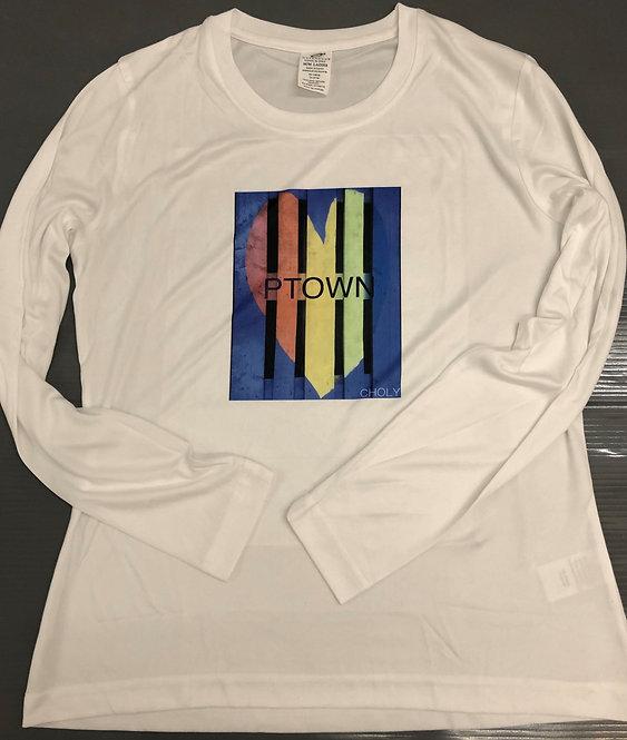 PTOWN Rainbow - Women's Long Sleeve Shirt