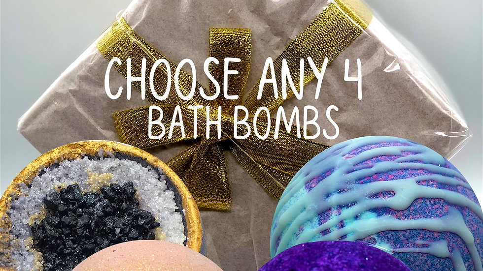 Mixed Bath Bomb Gift Box  (online only)