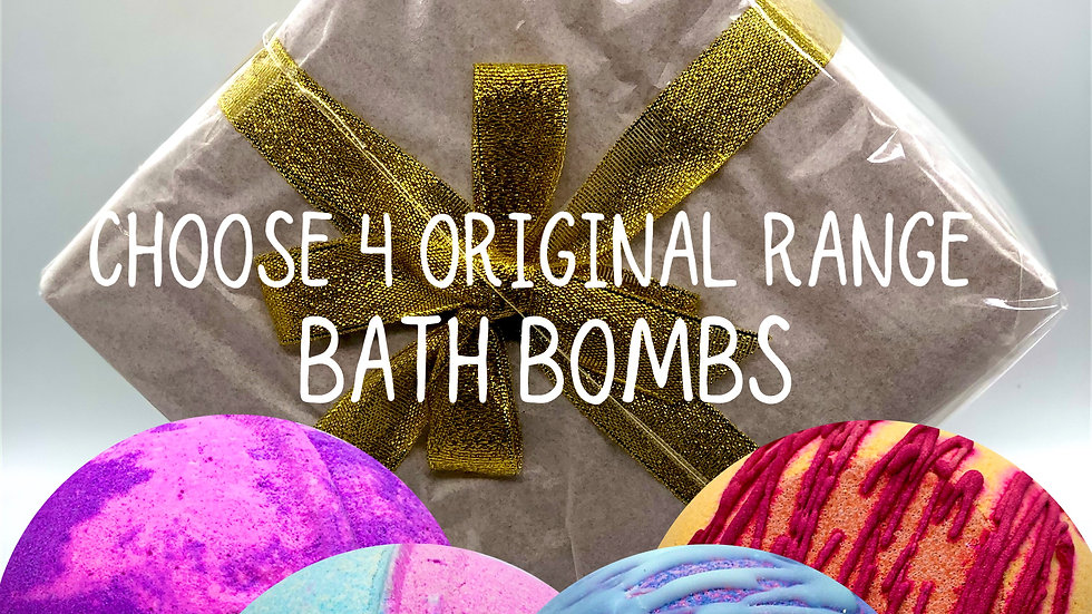 Mix and Match Bath Bomb Gift Box (online only)