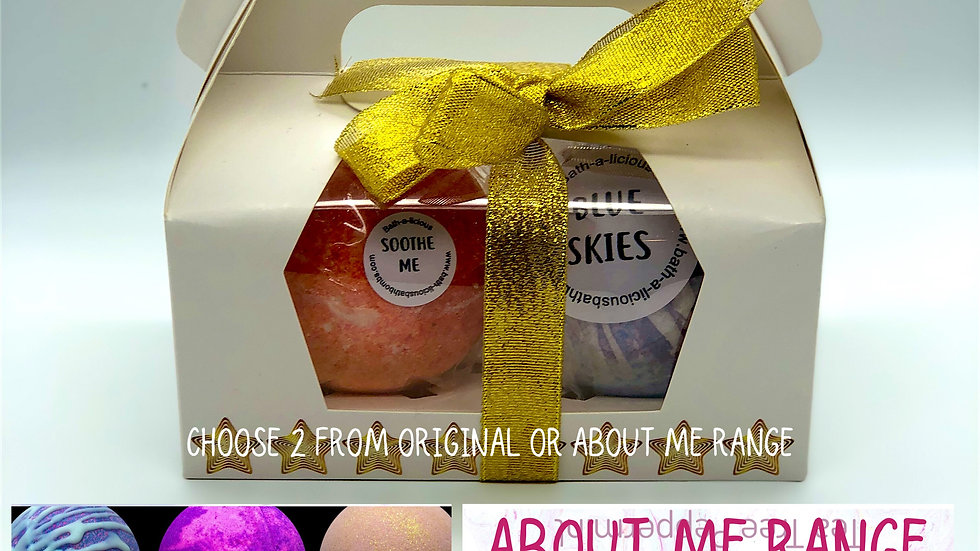Mix and Match Twin Bath Bomb Gift Set (online only)