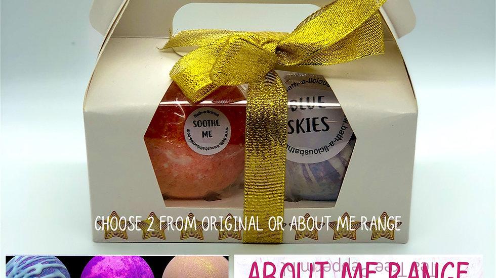 Mix and Match Bath Art Twin Bath Bomb Gift Set (online only)