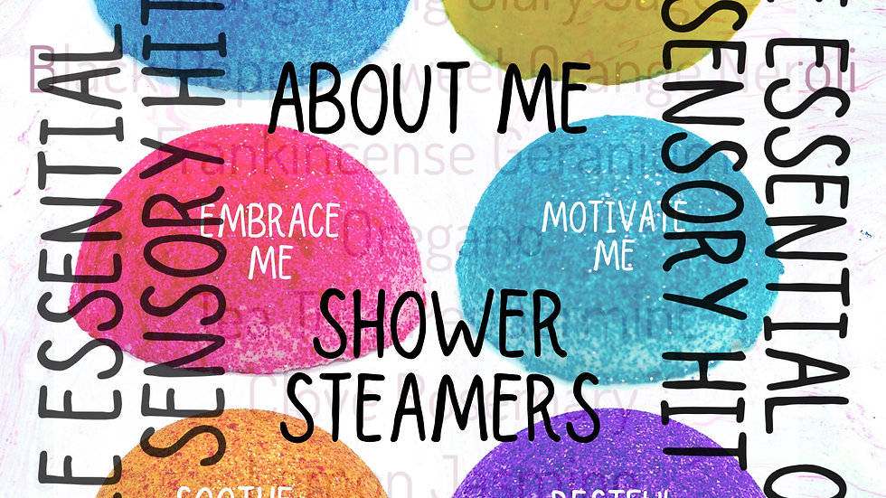 Mix and Match 3 for £5 Shower Steamers - About Me Range (online only)