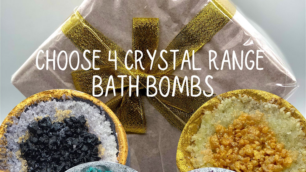 Mix and Match Crystal  Bath Bomb Gift Box (online only)