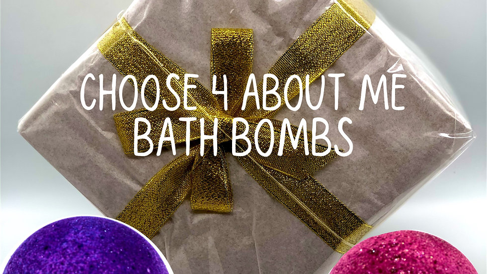 Mix and Match About Me Bath Bomb Gift Box (online only)