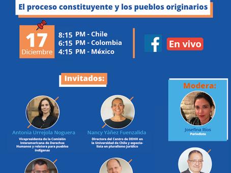 """Ciclo de Debates KAS - UAI - IDD: """"Desafíos y oportunidades del proceso constitucional en Chile""""."""