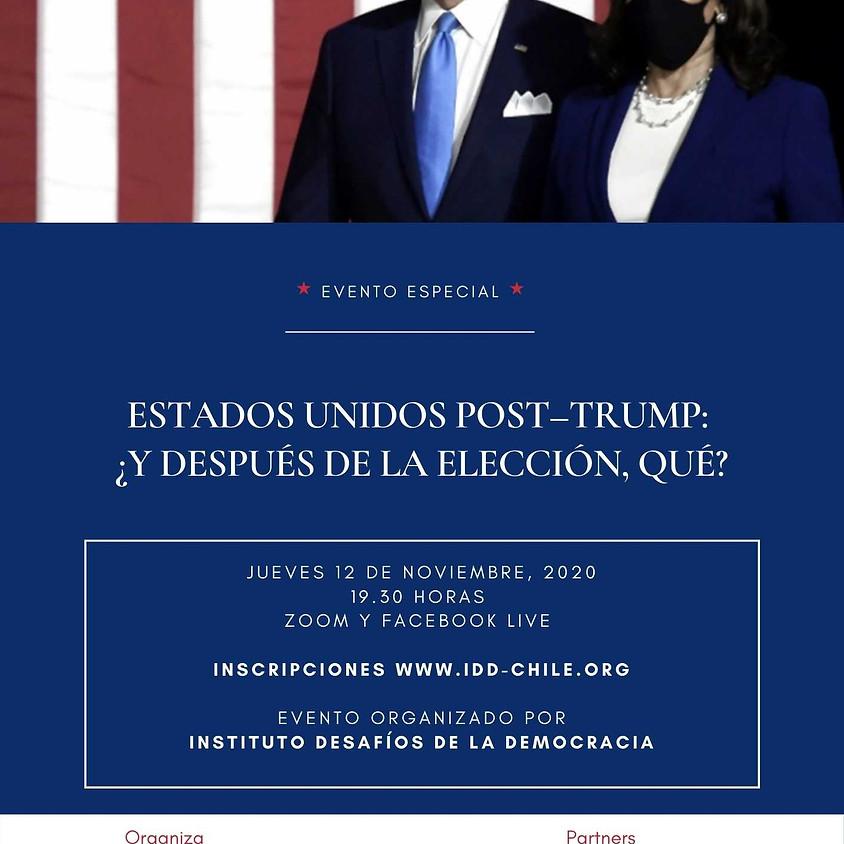 Estados Unidos post Trump:  ¿Y después de la elección, qué?