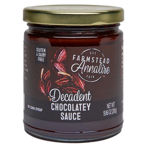 Decadent Chocolatey Sauce