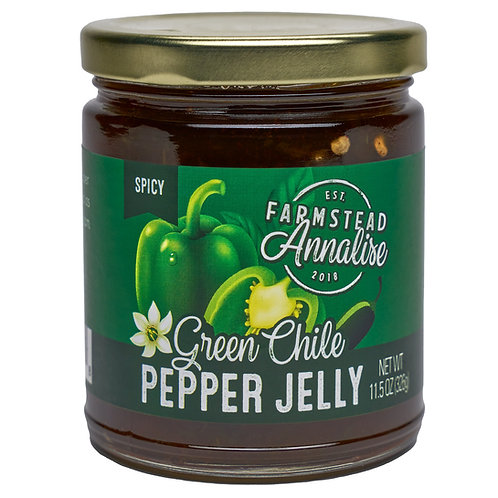 Green Chile Pepper Jelly