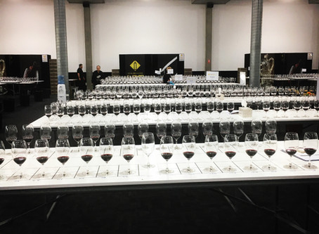 Royal Melbourne Wine Show Judging