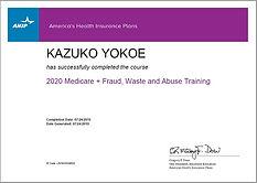 Kazuko's AHIP Cert.jpg