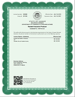 Taryn Kumamoto agent license as individu