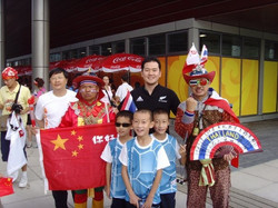 Funny Thai supporters