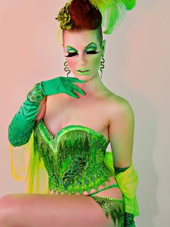 Vivacious Miss Audacious in Green