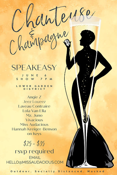 Chanteuse and Champagne