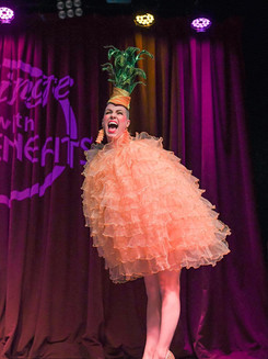 Vivacious Miss Audacious Pineapple Hula Hoop