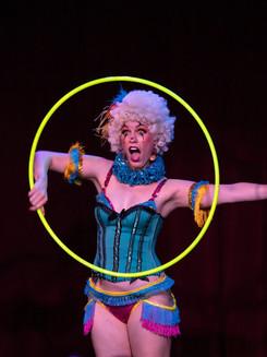 Vivacious Miss Audacious Clown Hula Hoop