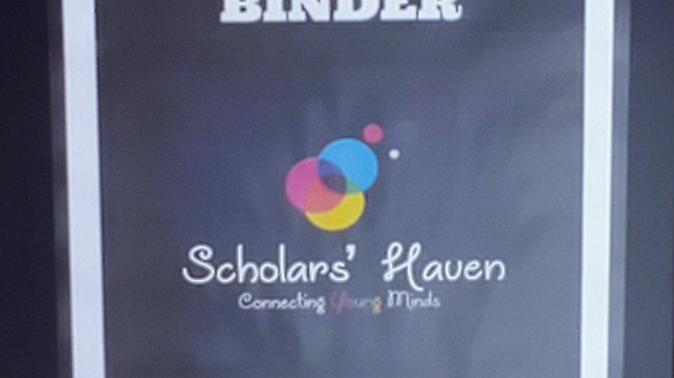 Preschool-K Interactive Learning Binder