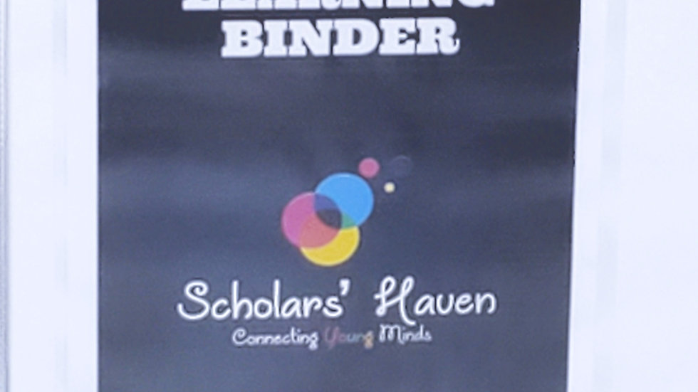 ABC Interactive Learning Binder