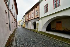 Vjezd do ulice B. Vlčka