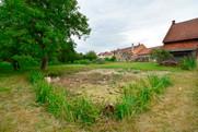 Pozemek Prosenice - pohled na bývalý rybníček